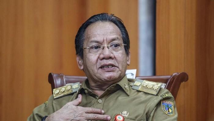 Gubernur Sulawesi Tengah Longki Djanggola