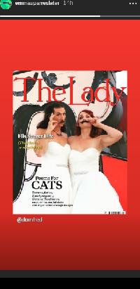 Cerita di Balik Pasangan yang Sama-sama Pakai Gaun Pengantin Saat Menikah