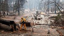 Korban Tewas Akibat Kebakaran di California Jadi 81 Orang, 870 Hilang