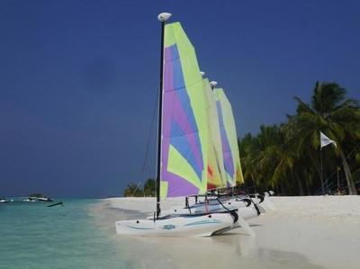 Seru-seruan Nyobain Olahraga Air di Maldives