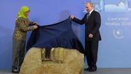 Bertemu Putin, Presiden Halimah: Singapura-Rusia Bersahabat Baik