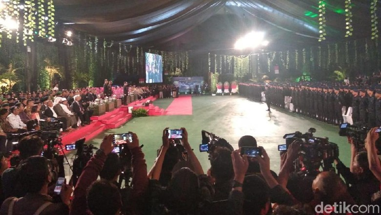 Buka HUT Ke-73 Brimob, Kapolri Bicara Duka Lion Air-Gempa Palu