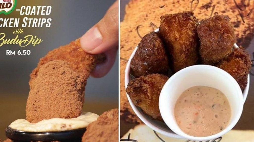 Ayam Goreng Gurih Renyah Dibalut Bubuk Milo Tengah Hits di Malaysia