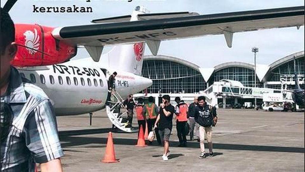 Ini Alasan Pesawat yang Ditumpangi Suami Nina Zatulini Putar Balik