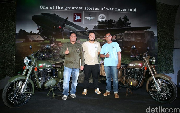 Motor Perang ala Royal Enfield Hadir di Indonesia