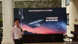 Ini Harga Asus Zenbook Pro 15 yang punya Touchpad Layar Sentuh