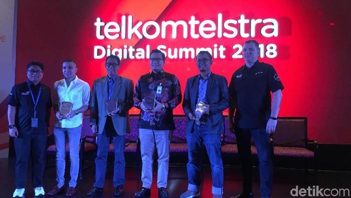 Telkomtelstra Digital Summit 2018 (Foto: Agus Tri Haryanto/detikINET)