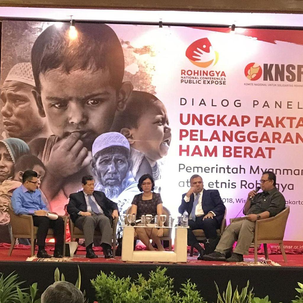 Krisis Rohingya, Institusi HAM ASEAN: Cocoknya Tentara yang Bicara