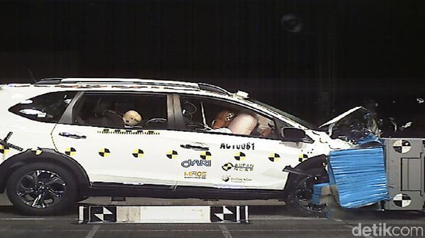 Crash Test Honda BR-V