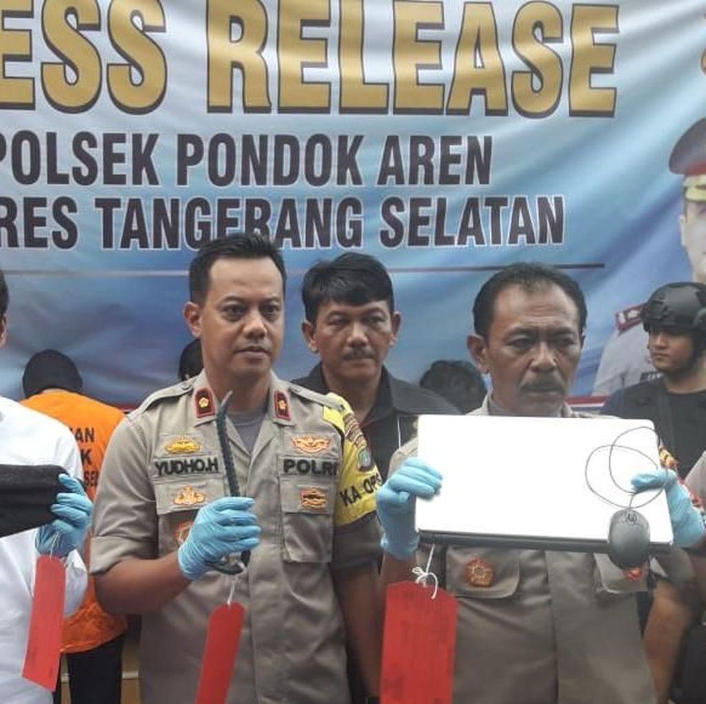 Komplotan Pencuri Kotak Amal hingga Toa Masjid di Tangsel Ditangkap