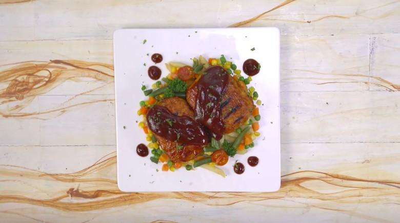 Resep steak tempe/Foto: Semua Bisa Masak TransTV