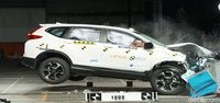 Foto Crash Test Honda CR-V
