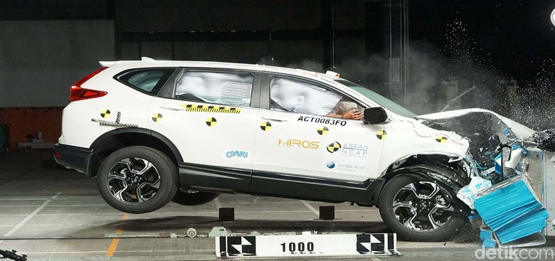 Honda CR-V Crash test. Foto: ASEAN NCAP