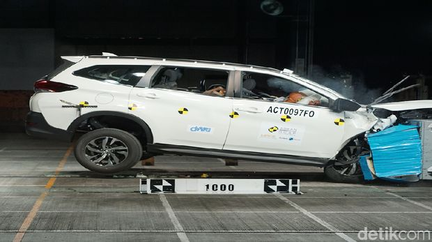 Crash Test Toyota Rush