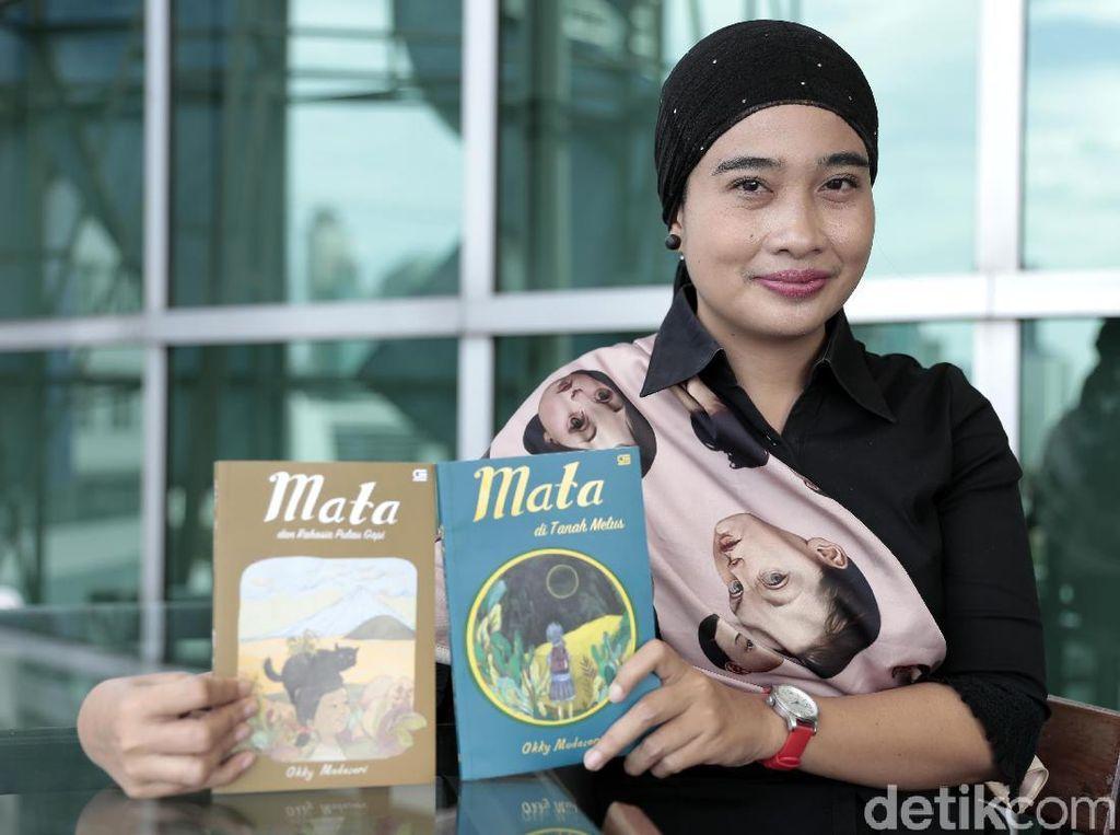 Alasan Okky Madasari Tulis Seri Buku Anak Mata