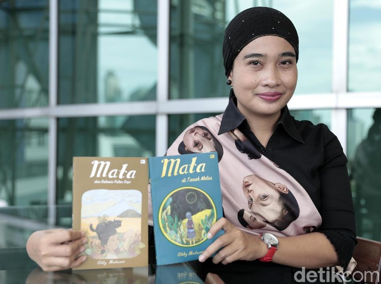 Okky Madasari Tulis Seri Mata karena Minimnya Literatur Anak