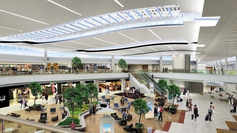 Bandara di Atlanta, AS.