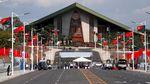 Tari Tradisional Papua Nugini Sambut Kedatangan Presiden China