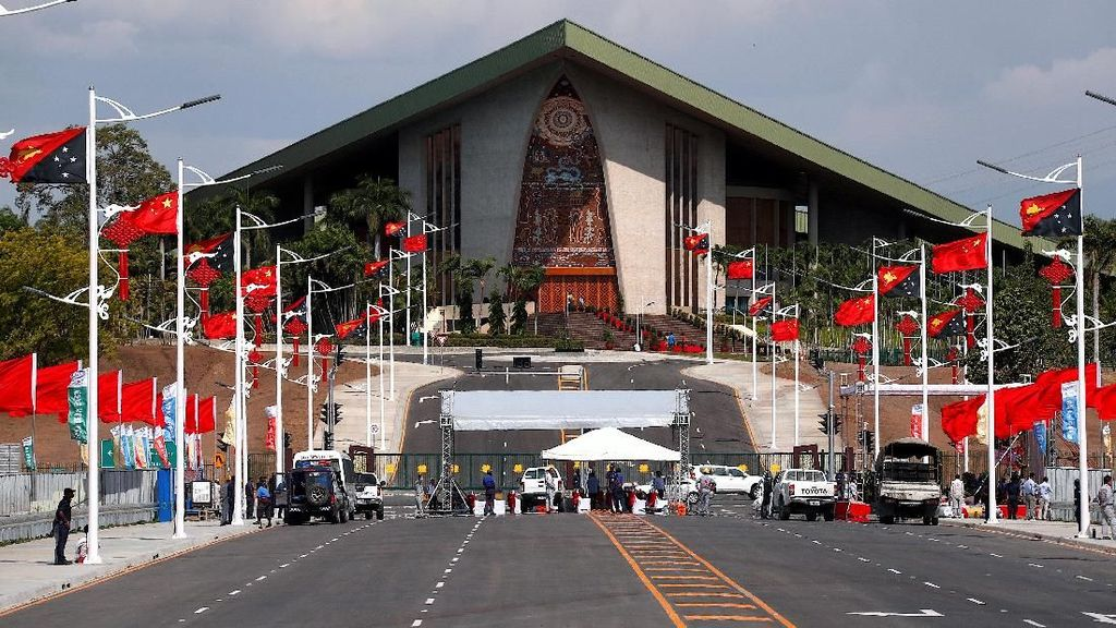Presiden China ke Papua Nugini, Negara Kepulauan di Pasifik