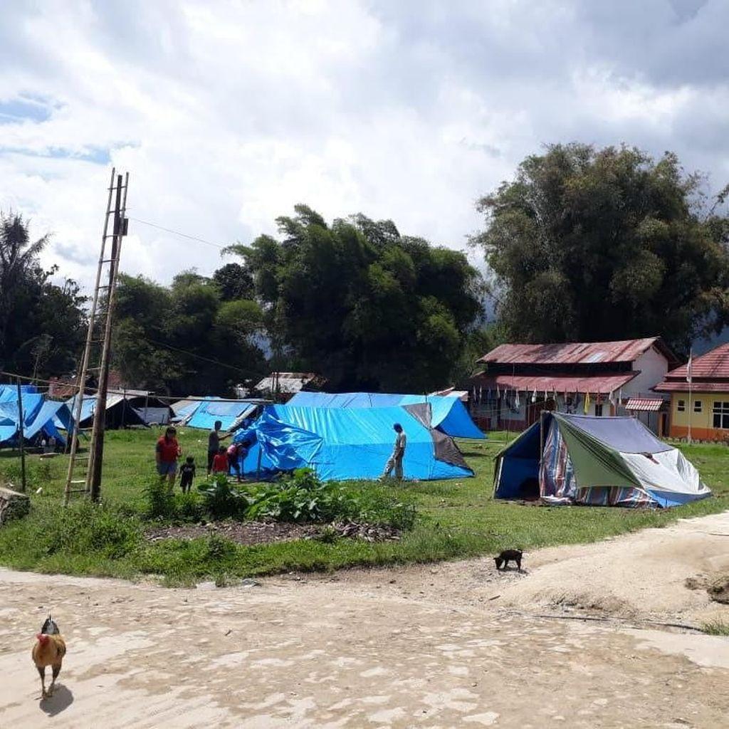 Mencekamnya Mamasa Sulbar, 61 Kali Gempa dalam 10 Jam