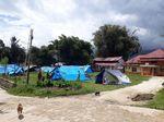 Diguncang Gempa, Bupati Mamasa Ngantor di Tenda Lapangan