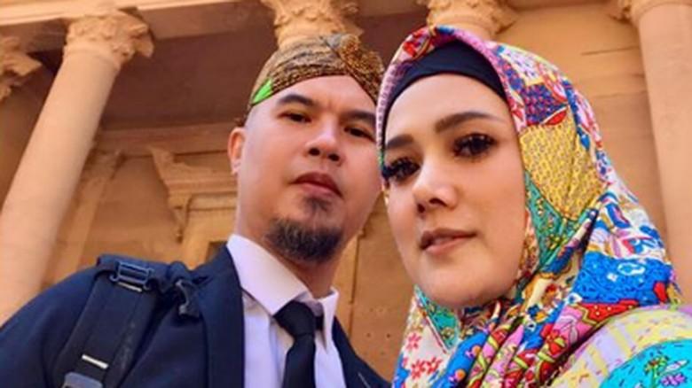 Ahmad Dhani dan Mulan Jameela/ Foto: instagram