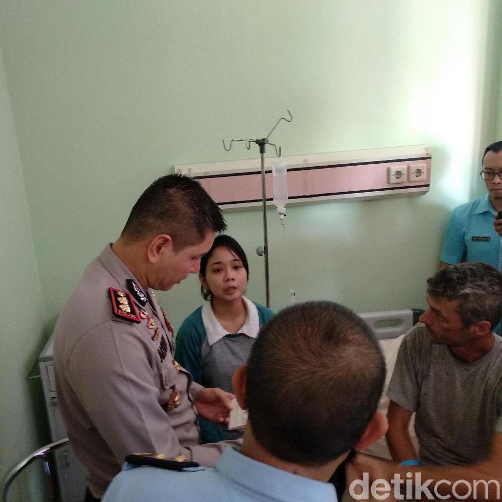 Bule yang Kesasar di Probolinggo Dirawat di RS, Begini Kondisinya