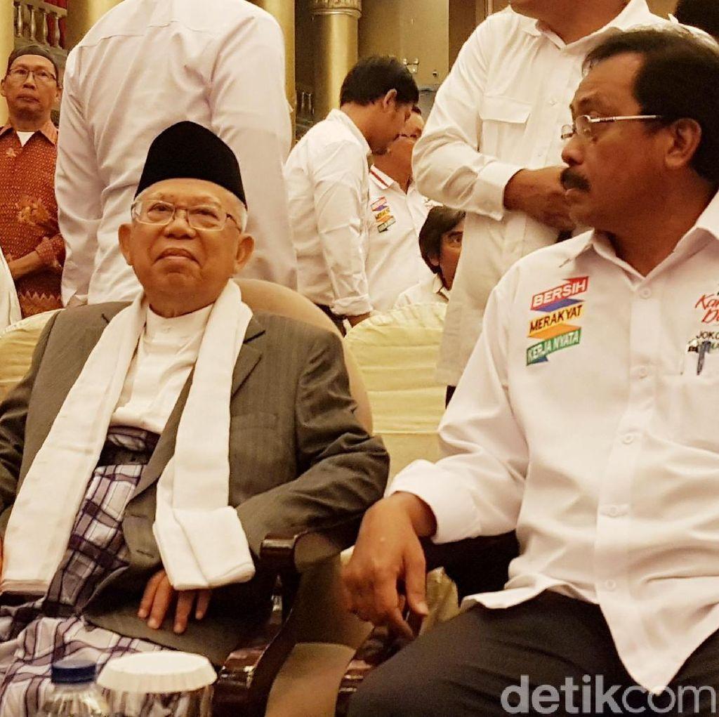 Maruf Amin ke Batam, Minta Tim Pemenangan Capai Target Suara 70%