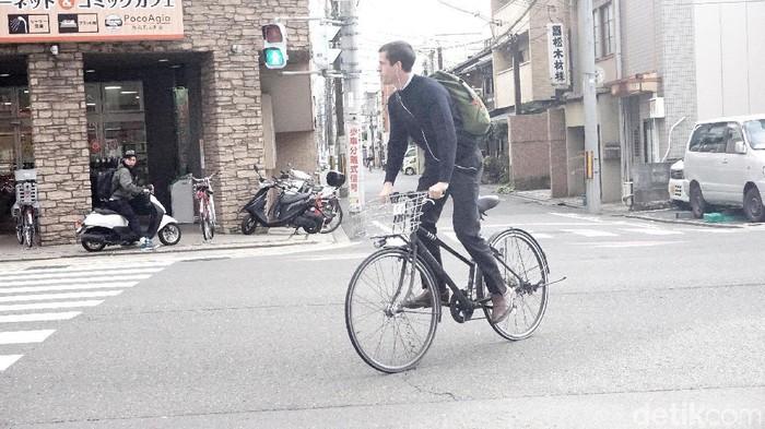 gowes sepeda di jepang