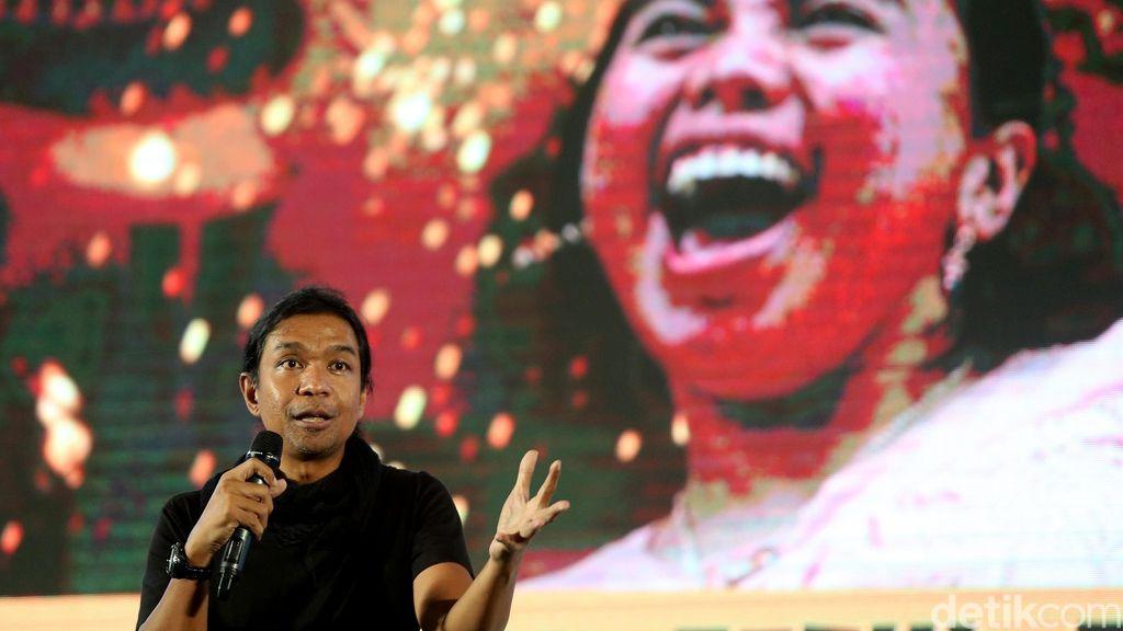Ajang Innocreativation terus berlanjut, kini menghadirkan pelaku industri kreatif yakni Dimas Djayadiningrat.