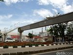 Melihat Proyek Pembangunan JPO Baru di Jakarta Timur
