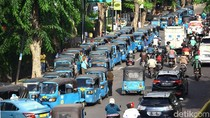 Sopir Bajaj DKI Keluhkan Gas Langka karena SPBG Tak Berfungsi