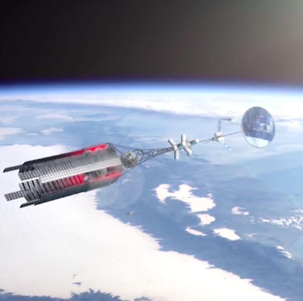 Rusia Siapkan Pesawat Nuklir untuk Bolak-balik Bumi dan Mars