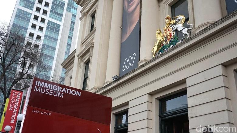 Immigration Museum di Melbourne (Shinta/detikTravel)