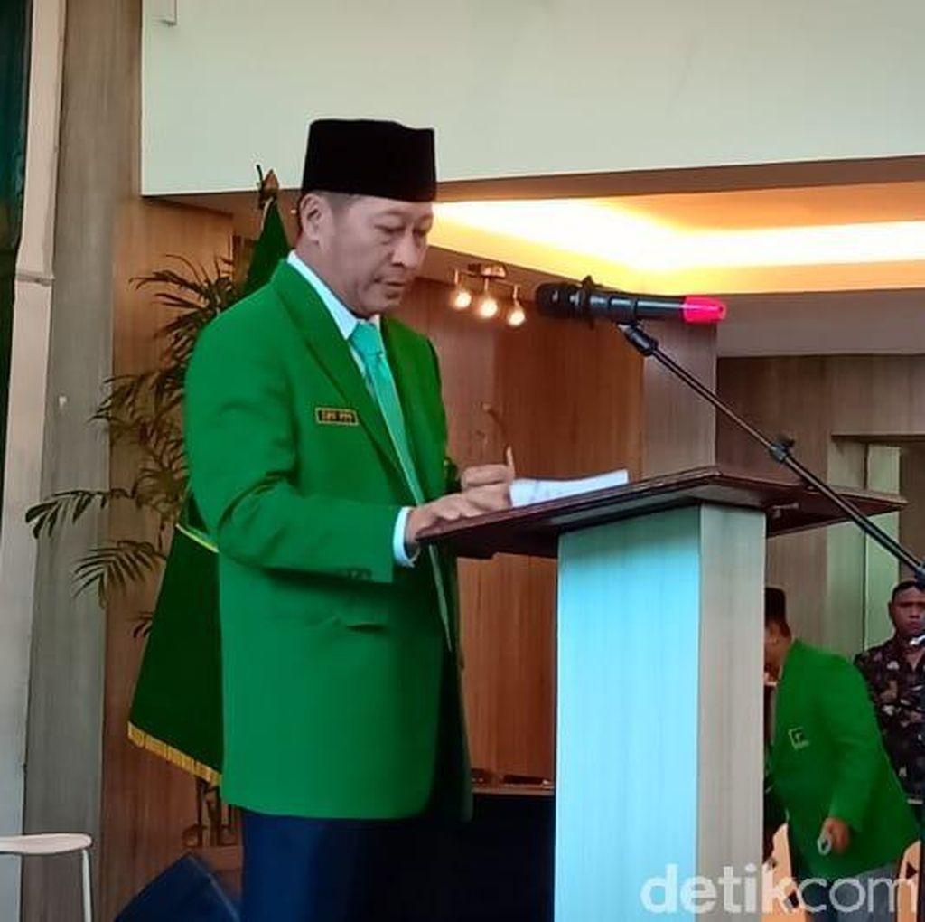 Mukernas, Kader PPP Kubu Muktamar Jakarta Teriak Prabowo Menang