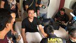 Foto-foto Penangkapan HS, Terduga Pembunuh Satu Keluarga di Bekasi