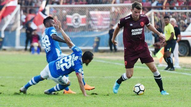 Persib mengalami periode negatif di Liga 1 2018 sejak Oktober.
