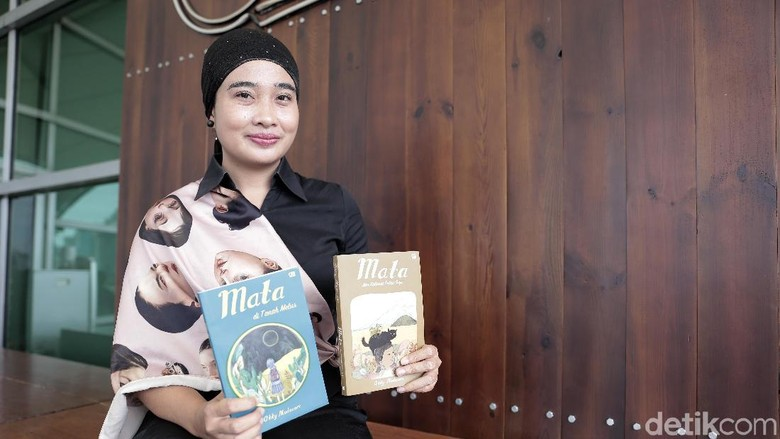 Keseruan Okky Madasari Ajak Anak Menjelajah Indonesia Timur/ Foto: Asep Syaifullah/ detikHOT