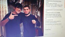 Tampil Bareng Nurmagomedov, Andre Taulany Bikin Ngakak