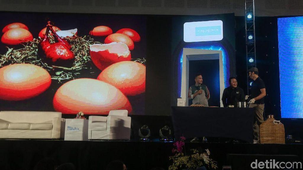 Chef Molecular Gastronomy Paksa Ruben Onsu Cicipi Makanan Ajaib