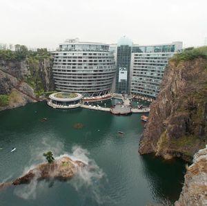 Begini Penampakan Hotel Bawah Tanah Pertama di Dunia