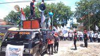 Turun ke Jalan, Buruh di Cirebon Tolak Kenaikan UMK