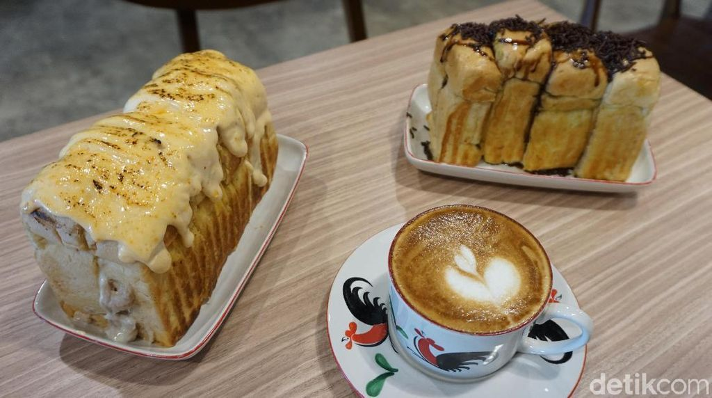 Kupi Plus Ruti: Empuk Manis Roti Alpukat Kopi Plus Cappuccino Frutty