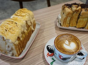 Nikmatnya Ngemil Roti Isi Alpukat Kopi Ditemani Cappuccino Frutty