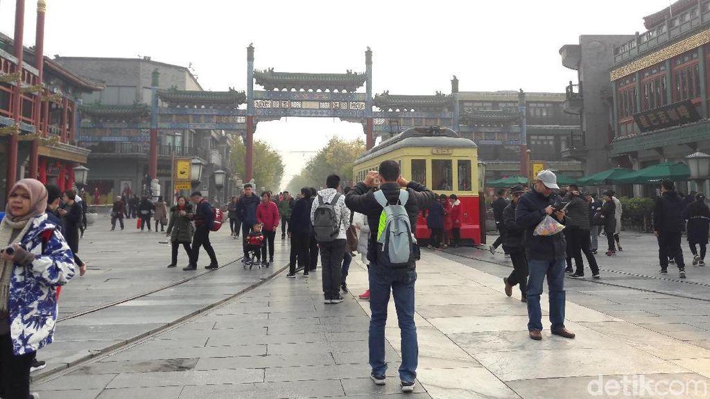 Qianmen Street, Surga Pejalan Kaki di Beijing yang Car Free Day Tiap Hari