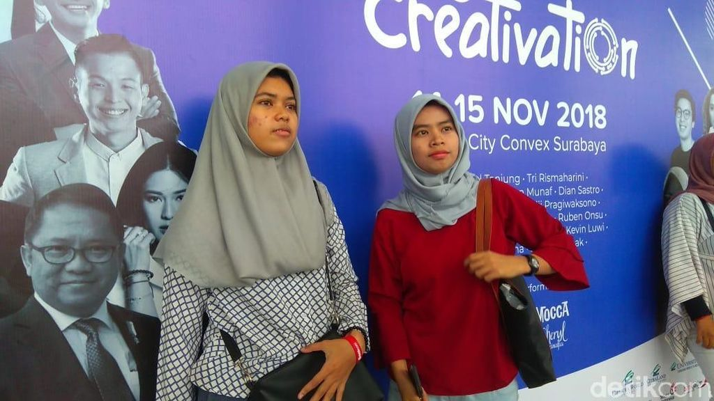 Arek Suroboyo Rela Antre dari Pagi Demi Afgan di InnoCreativation
