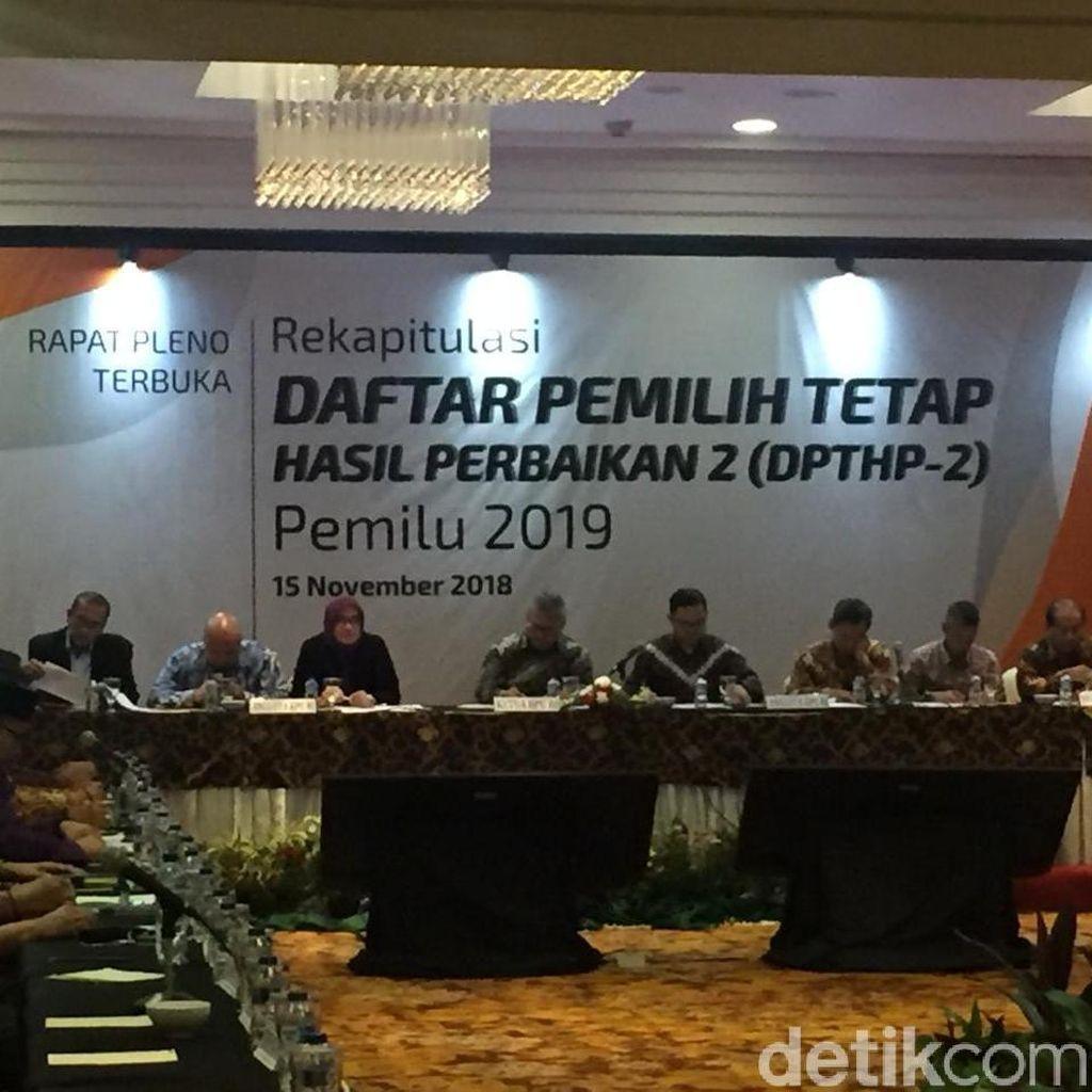KPU: 6 Provinsi Belum Selesaikan Rekapitulasi DPT Perbaikan