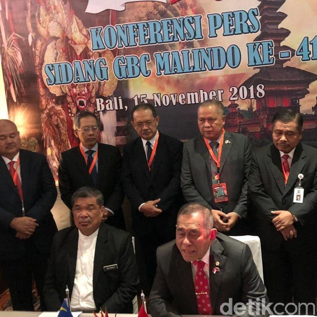 Menhan RI-Malaysia Sepakat Tingkatkan Keamanan Perbatasan