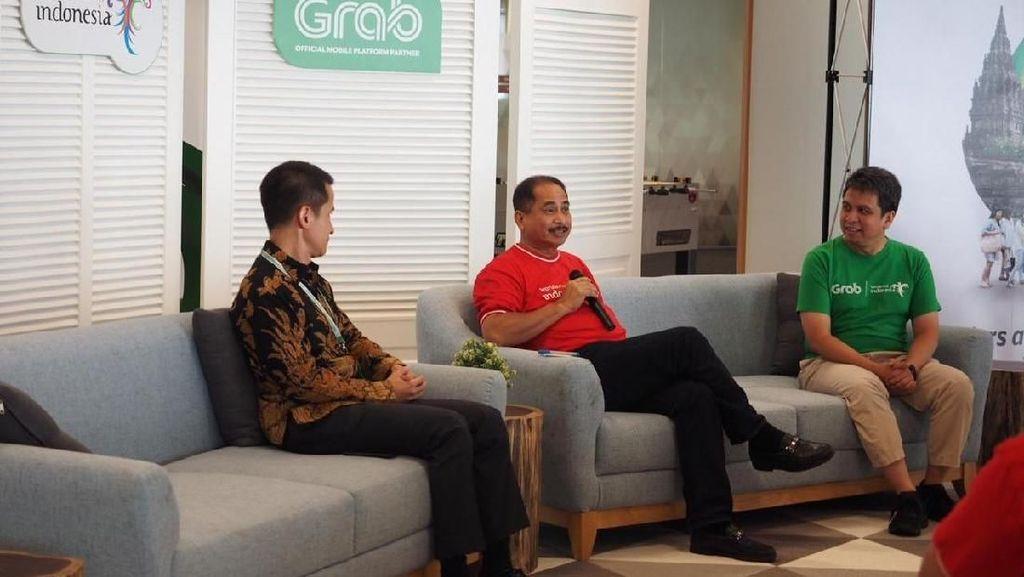 Pengguna Grab di Singapura Bisa Akses Info Pariwisata RI