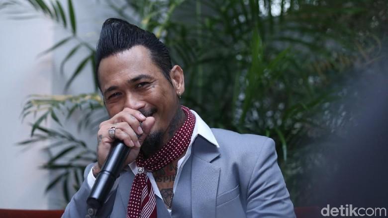 Foto: Jerinx SID (Ismail/detikHOT)